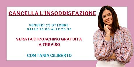 Serata Di Coaching con Tania Ciliberto biglietti