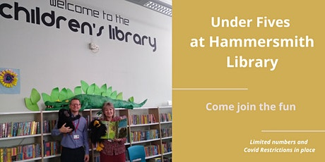 Under 5 session-Hammersmith Library tickets
