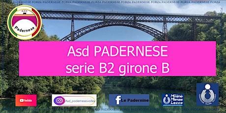 ASD PADERNESE Volleyball Vs GSO Villa Cortese Va biglietti