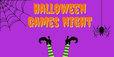 Halloween Games Night - Teens tickets