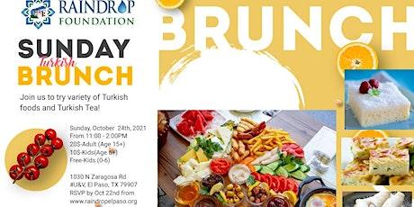 Raindrop Turkish House El Paso - BRUNCH tickets