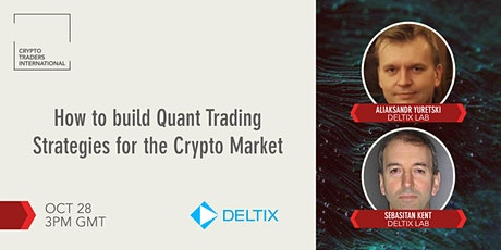 How to build Quant Trading Strategies for the Crypto Market w/ QuantOffice tickets
