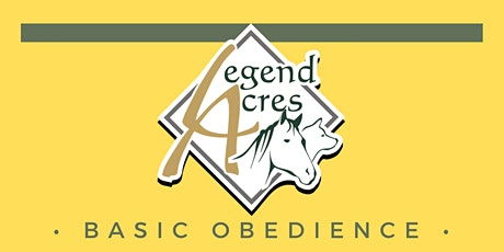 Legend Acres Dog Obedience Classes tickets