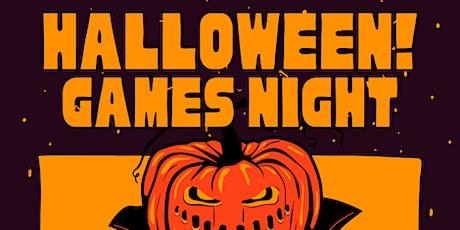 Halloween Games Night - Adult tickets