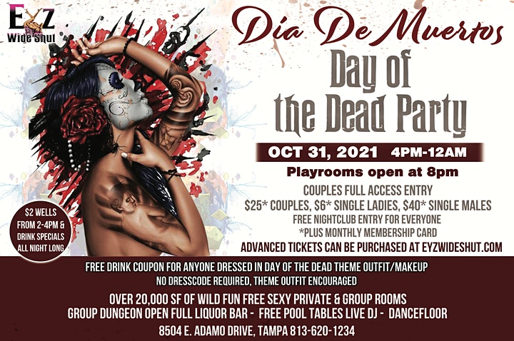Day of The Dead  Halloween Party image
