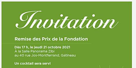 Remise des Prix de la Fondation et conférence de Colette Lebel tickets