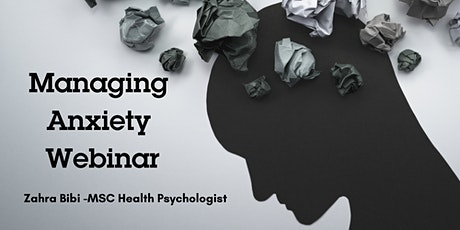 Mental Health- Managing Anxiety tickets
