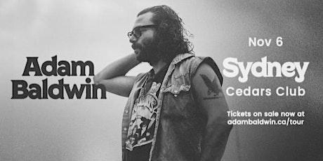 Adam Baldwin - LIVE in Sydney tickets