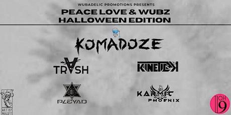Peace Love & Wubz Halloween Edition tickets