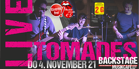 TOMADES - LIVE Tickets