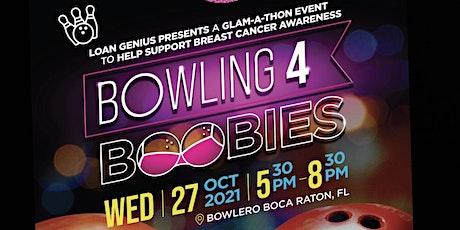 Bowling 4 Boobies tickets