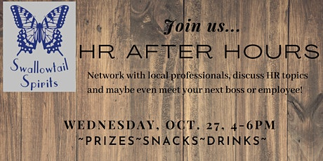 October 2021 HR After Hours tickets