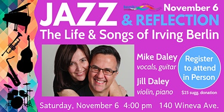 Jazz & Reflection: The Life and Songs of Irving Berlin tickets
