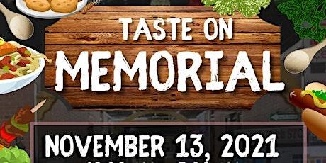 Taste on Memorial tickets