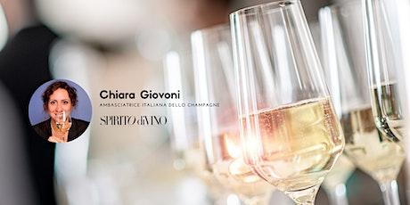 Le Bollicine delle Terre di Pisa - Chiara Giovoni – Spirito Divino biglietti