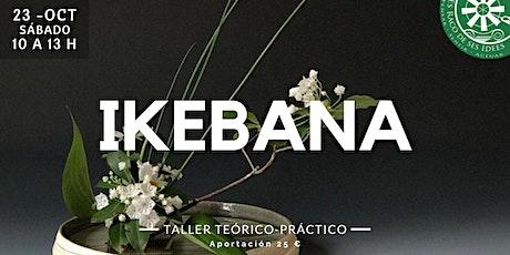 Taller de Ikebana entradas