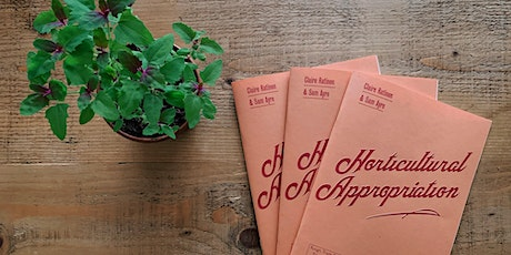 Horticultural Appropriation tickets