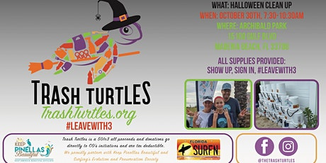 Trash Turtle Cleanup tickets