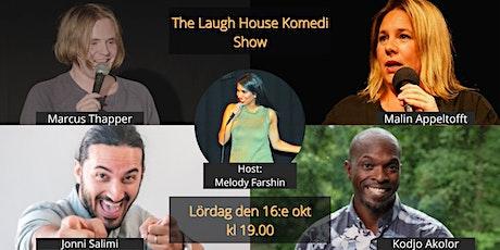 The Laugh House Ståupp Komedi 16:e oktober biljetter