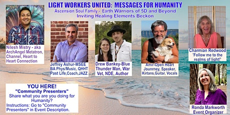 Light Workers United: Messages for Humanity tickets