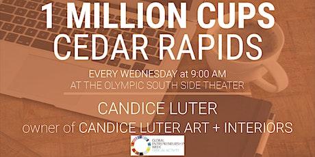 1 Million Cups Cedar Rapids: November 10 tickets