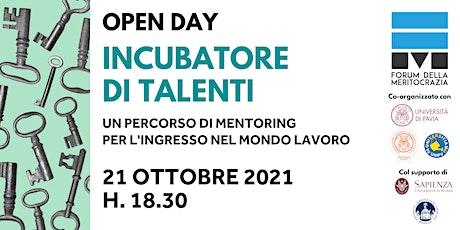 Incubatore di Talenti 2021/22 biglietti