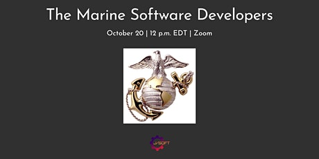 The Marine Software Developers tickets