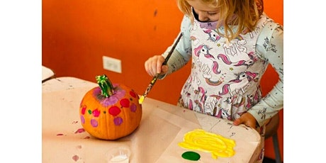 Grades K-5 Pumpkin Painting Party $25 tickets