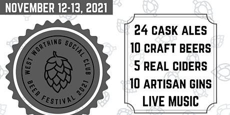 Worthing Social Club Beer Festival 2021 tickets