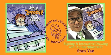 Signing and interactive drawing with Author/Illustrator Stan Yan tickets