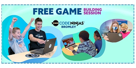 Code Ninjas Bromley FREE Game Building Session tickets