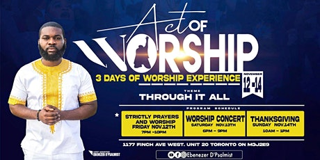 Act of Worship 2021 tickets