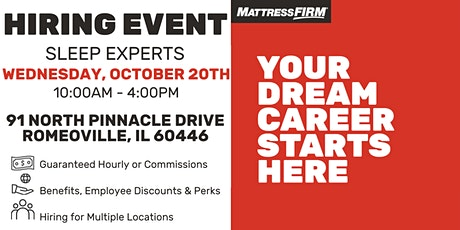 ChicagoLand Area Live Hiring Event tickets