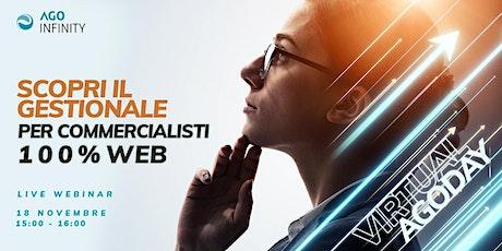 Un nuovo modo di lavorare con il Gestionale per Commercialisti 100% WEB biglietti