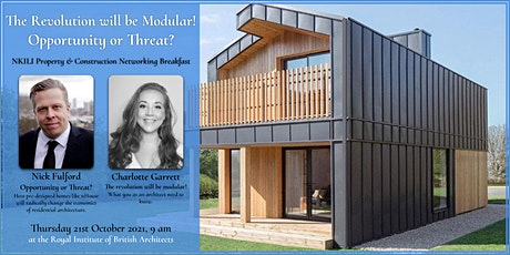 The Revolution will be Modular! Opportunity or Threat? tickets