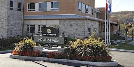 Séances des conseils municipal et d'agglomération | Ville de Mont-Tremblant billets
