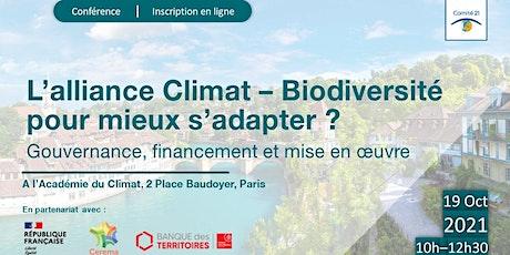 L'alliance Climat – Biodiversité pour mieux s'adapter ? billets
