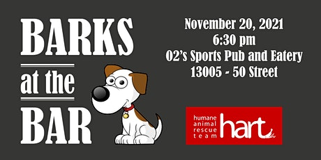 Barks at the bar - Silent Auction tickets