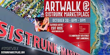 ARTWALK at Sistrunk Marketplace #SMArtWalk :  Showcasing @c.h.rose tickets