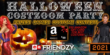 2021 Halloween Costzoom Party - Fun, Social Games, Prizes! tickets