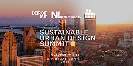 Sustainable Urban Design Summit tickets