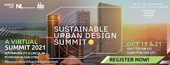 Sustainable Urban Design Summit image