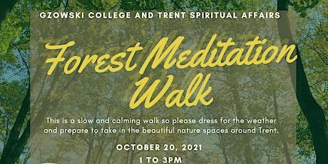 Forest Meditation Walk tickets