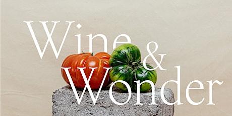 Wine & Wonder entradas
