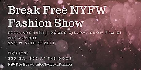 New York Fashion Week F/W 22 Fashion Show tickets