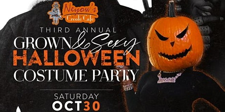 3rd Annual Grown & Sexy Halloween Party tickets