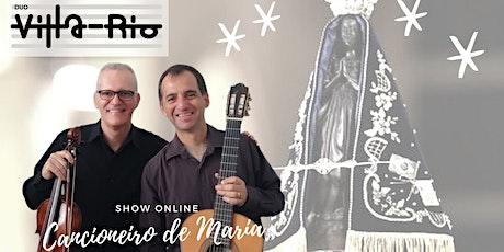 Show Cancioneiro de Maria tickets