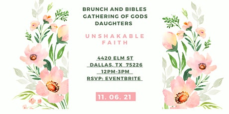 Brunch & Bibles-Gathering Of God's Daughters tickets