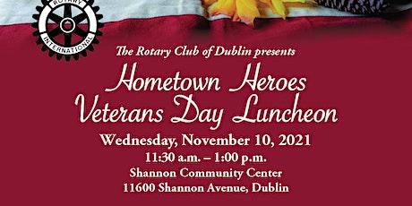 Hometown Heroes Veteran's Day Luncheon tickets