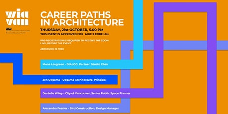 Women in Architecture Vancouver: Career Paths tickets